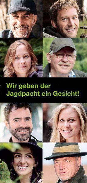 """Flyer """"Wir geben der Jagdpacht ein Gesicht"""""""