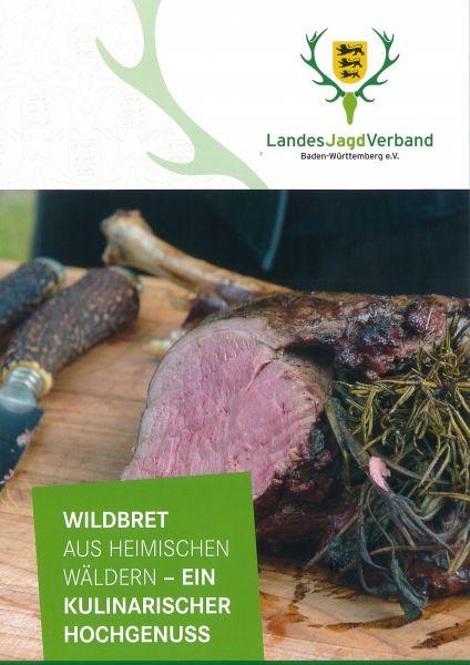 Broschüre Wildbret aus heimischen Wäldern - Ein kulinarischer Hochgenuss!