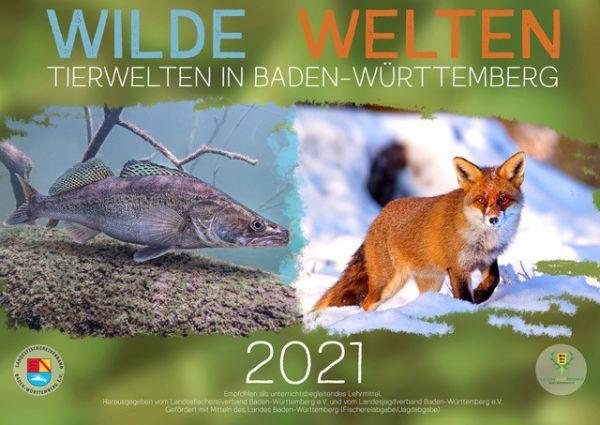 """Schulkalender """"Wilde Welten 2021"""""""