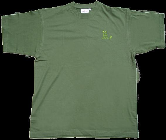 Jägerinnen T-Shirt Hase