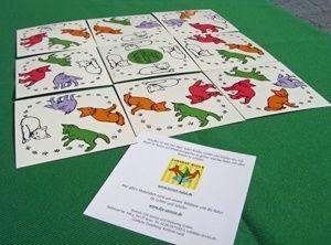 Spielende Jüngfüchse