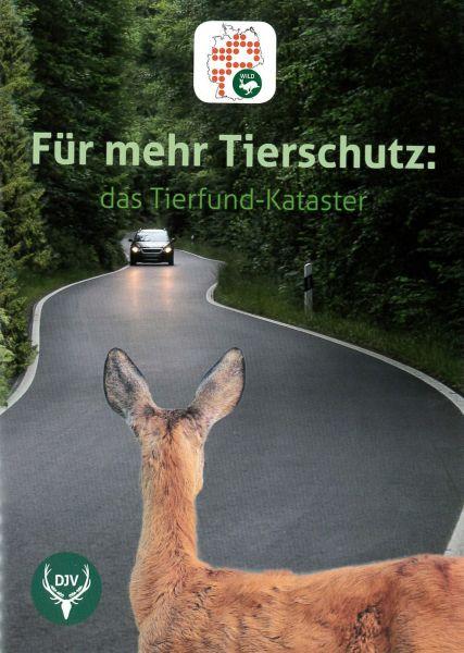 Tierfund-Kataster Broschüre
