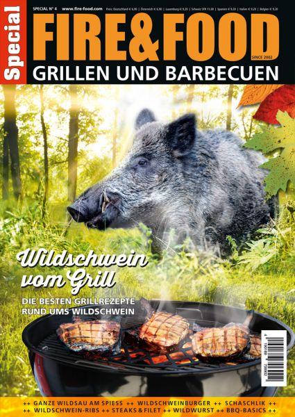 """Grillen und Barbecuen """"Wildschwein vom Grill"""""""
