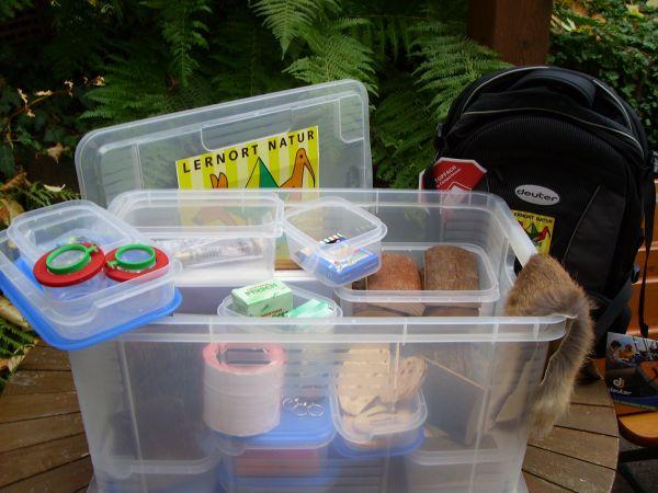 Lernort Natur BOX LJV-Praxishilfe für Lernort Natur
