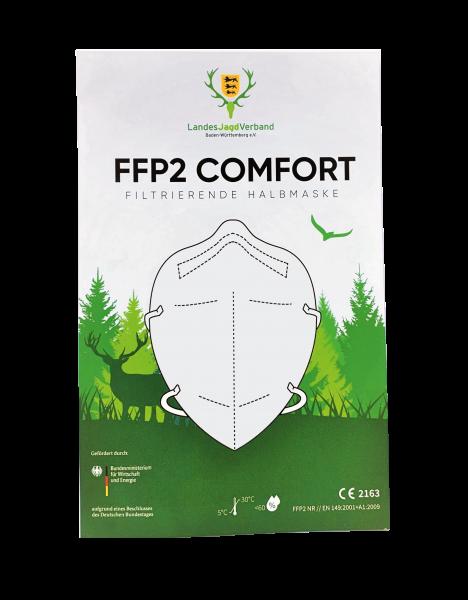 FFP2 COMFORT Filtrierende Halbmaske 3er Pack
