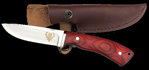LJV-Jagdmesser mit Lederscheide