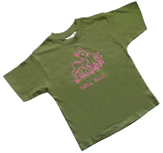 "Original ""Wildwechsel"" Kinder-Motiv-T-Shirts"